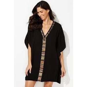 Swimsuits For All Cleo Beaded Cover Up Poncho 20